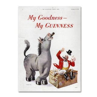 Guinness Brewery 'My Goodness My Guinness VI' Canvas Art