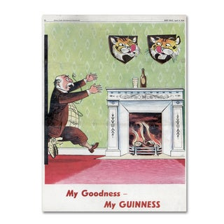 Guinness Brewery 'My Goodness My Guinness V' Canvas Art