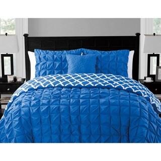 VCNY Scottsdale 4-piece Reversible Comforter Set