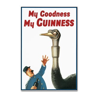 Guinness Brewery 'My Goodness My Guinness I' Canvas Art