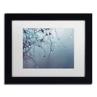 Beata Czyzowska Young 'As Time Goes By' Matted Framed Art