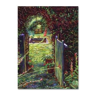 David Lloyd Glover 'Wicket Garden Gate' Canvas Art