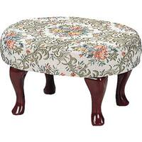 Laurel Creek Agatha Footstool Upholstered Cherry