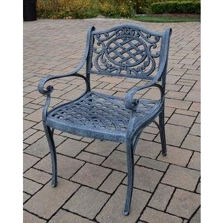 Dakota Cast Aluminum Durable Arm Chair