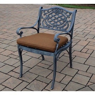 Explorer Outdoor Sunbrella Cushion Cast Aluminum Arm Chair