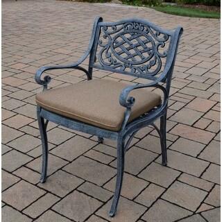 Dakota Polyester Cushion Cast Aluminum Arm Chair
