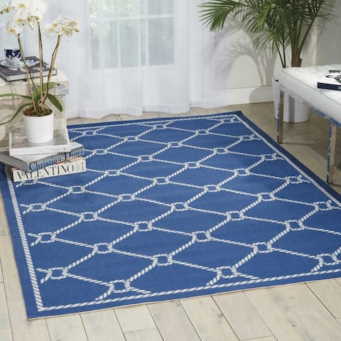 Waverly Sun N' Shade Nautical Rope Indoor/Outdoor Area Rug