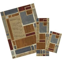 Mohawk Home Soho Regnar Multi (Set Contains: 18 x 30 20 x 60 and 60 x 84) - 5' x  7'