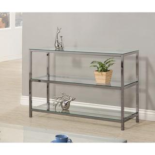 "Coaster Company Glass and Metal Sofa Table - 47.25"" x 15.75"" x 32"""