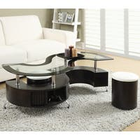 Coaster Company Cappuccino Coffee Table