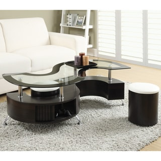 High Quality Coaster Company Cappuccino Coffee Table