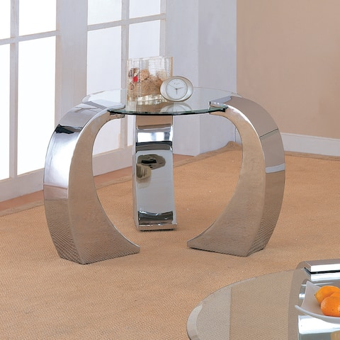 """Coaster Company Silver Occasional Table - 39"""" x 31.25"""" x 22"""""""