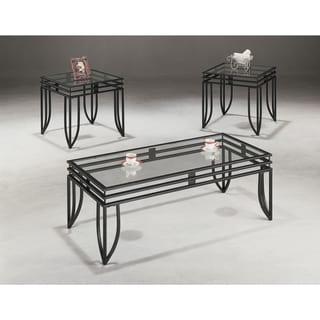 Coaster Company Black Matrix End Table (Set of 3)