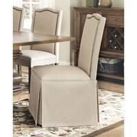 Coaster Company Tan Parson Skirted Chair
