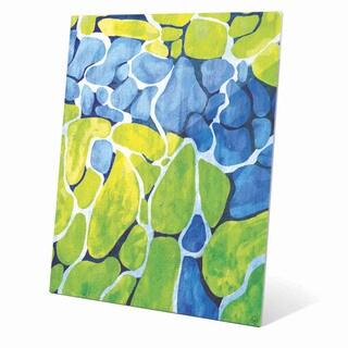 Mossy Cobblestone Graphic on Acrylic