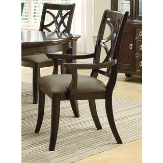Brown Dining Chair with Arm