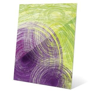 Swirl of Summer Graphic on Acrylic