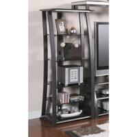 Coaster Company Black Metal 5-shelf Media Tower