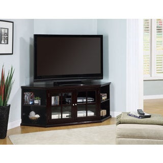 Coaster Company Espresso Glass Doors TV Console