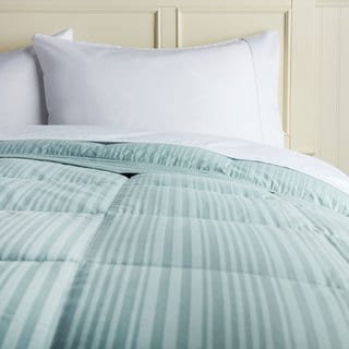 Hotel Madison 350 Waterbury Stripe Down Blanket