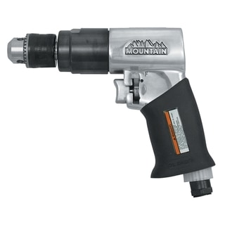 Drill Air Reversible 3/8-inch with Rubber Handle Grip