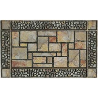 Mohawk Home Doorscapes Manor Patio Stones Doormat (1'7.5 x 3'11)