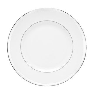 Lenox Tribeca White/Silver Formal Dinner Plate