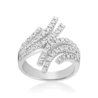 Andrew Charles 14k White Gold 5/8ct TDW Diamond Fashion Ring (H-I, SI2-I1)