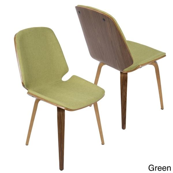 Carson Carrington Vihti Walnut Mid-century Modern Dining Chairs (Set of 2) - N/A. Opens flyout.