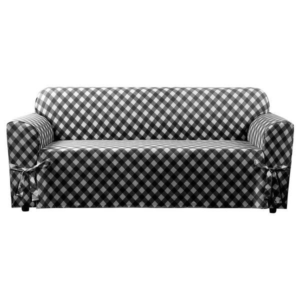 Sure Fit Buffalo Check Sofa Slipcover Free Shipping Today 19041929