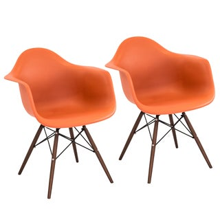 Neo Flair Mid-century Modern Chairs (Set of 2)