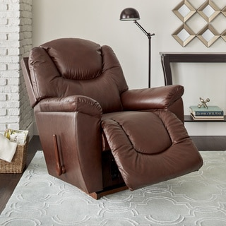 La-Z-Boy Ace Dark Brown Leather Recliner
