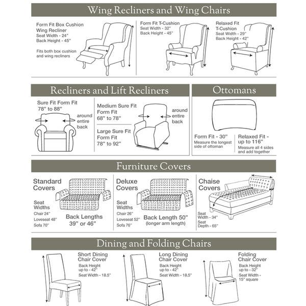 Prime Shop Sure Fit Buffalo Check Chair Slipcover Free Shipping Gmtry Best Dining Table And Chair Ideas Images Gmtryco
