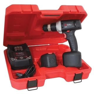 Cordless Driver 3/8-inch Drill with 2 Lithium-ion Batteries