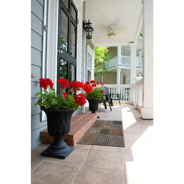 Mohawk Home Doorscapes Estate Masonry Foliage (1'11 x 2'11)