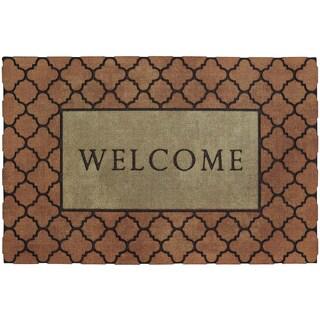 "Mohawk Home Doorscapes Estate Lattice Border (1'11"" x 2'11"")"