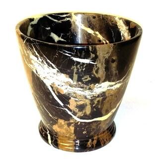 Michelangelo Marble Atlantic Waste Basket