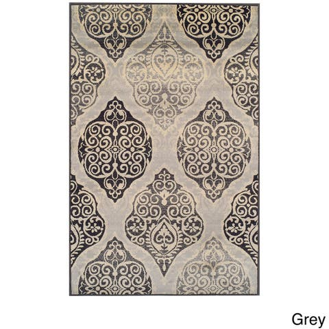 Superior Amherst Traditional Oriental Medallion Area Rug Collection
