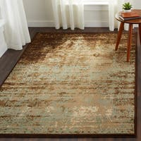 Superior Modern Afton Acid Wash Area Rug Collection (5' x 8') - 5' x 8'