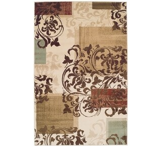 Superior Modern Storyville Scroll Area Rug Collection - multi
