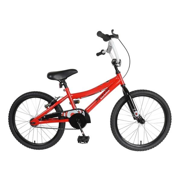 Piranha Boomerang Kid's Bike, 20 inch wheels, 11 inch frame, Boy's Bike, Red