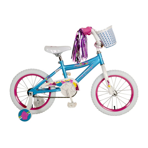 Piranha Little Lady Kid's Bike, 16 inch wheels, 10 inch frame, Girl's Bike, Teal