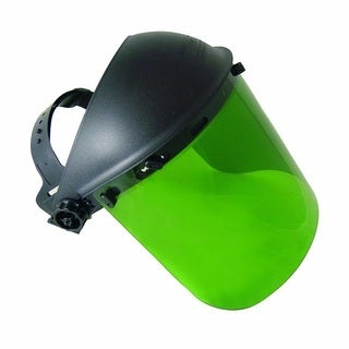 SAS Safety Dark Green Standard Face Shield