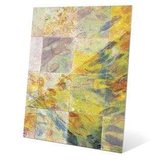 Prismatic Tiles Graphic on Acrylic