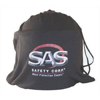 Black Face Shield Storage Pouch