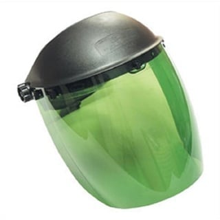 SAS Safety Dark Green Deluxe Face Shield