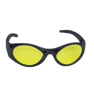Stingers Black and Yellow Clamshell Safety Glasses