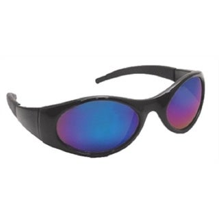 SAS Safety Stinger Black Mirrored Glasses