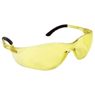 SAS Safety NSX Turbo Yellow Lens Safety Glasses With Poly Bag