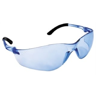 Nsx Turbo Safety Glasses with Light Blue Lens and Polybag